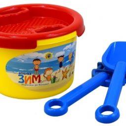 Игрален комплект за пясък 4 части