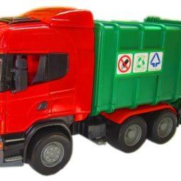 Камион боклукджийски голям инерционен с маховик