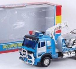 "Камион тип ""паяк"" инерционен с кола"
