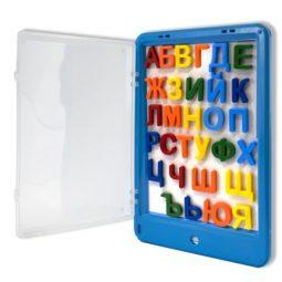 Комплект магнитна бяла дъска с букви и маркер - Артикулен № 270223