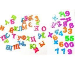 Комплект магнитни букви, цифри и знаци в кутия - Артикулен № 270208N