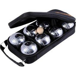 Комплект 8 топки за петанк от хромирана стомана - Артикулен № 500914