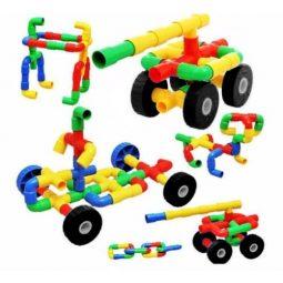Конструктор 500 грама елементи с различни цветове - Артикулен № 270386