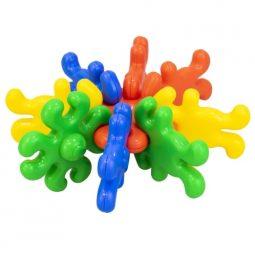 Конструктор 500 грама елементи с различни цветове - Артикулен № 270396