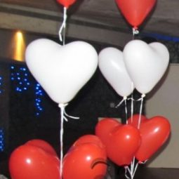 балони сърца