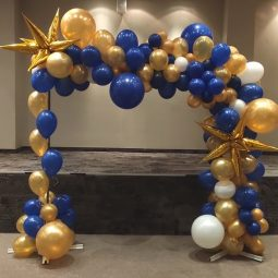 арка от балони органична
