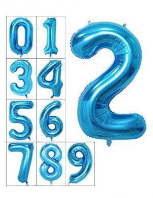 балони цифри големи сини хелиумбг