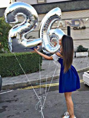 балони цифри големи сребристи хелиумбг