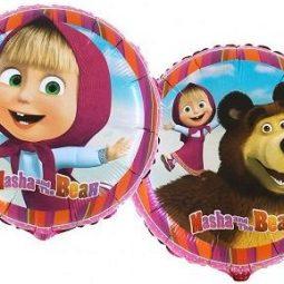 Балони Маша и Мечока фолиеви