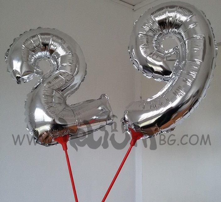Балони цифри малки