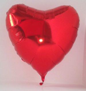 Огромен балон сърце